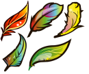 Раскрашиваем разноцветными ручками TM MILAN