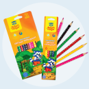 Цветные карандаши «Енот-следопыт» от Мульти-Пульти