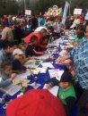 «Невская палитра» провела мастер-класс для городского праздника приуроченного началу учебного года.