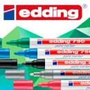 Универсальные лаковые маркеры Edding 750