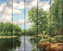 Хиты продаж картин по номерам на дереве, серия «Пейзаж» от ТМ «Фрея».