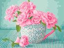 Картина по номерам серия «Цветы» ТМ «Фрея».