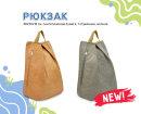 NEW! Стильный городской рюкзак из синтетической бумаги