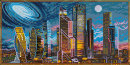Хиты продаж наборов кристальной мозаики серии «Городские мотивы» от ТМ «Фрея»