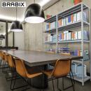 Металлические стеллажи BRABIX: новые товары для офиса и склада