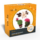Набор для сухого валяния «Цветущие растения» от ТМ Woolla