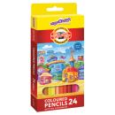 Цветные карандаши ЮНЛАНДИЯ от KOH-I-NOOR