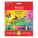 Пополнение в линейке цветных карандашей «Бабочки» от BRAUBERG