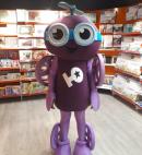 «Фиолетовый человечек» в Санкт-Петербурге