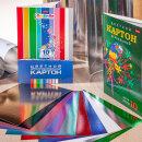 Цветные бумага и картон от Hatber: Зеркальный эффект.