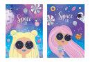 Блокноты BG ″Space girl″: космос как тренд