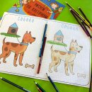 Серия книжек ″Рисуем по клеточкам″ для девчонок и мальчишек от Феникс+