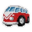 Новинка: кристальная мозаика (набор для изготовления магнита) «Автобус» от ТМ Фрея