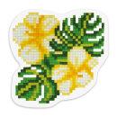 Новинка: кристальная мозаика (набор для изготовления магнита) «Тропические цветы» от ТМ Фрея