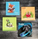 Серия альбомов для рисования в необычном формате от Феникс+
