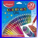 Цветные карандаши Star (72 цвета)