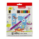 Набор цветных карандашей Bruynzeel Kids