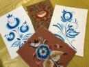 Серия мастер-классов по основам народной росписи