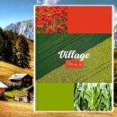 Блокнот BG «Village»: романтика в стиле кантри