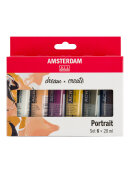 Набор акриловых красок Amsterdam Standard Portrait