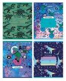 Тетрадь BG в крупную клетку ″Astrodino″: мультяшные астродинозаврики!