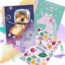 Хит! Цветная бумага для детского творчества от Феникс+