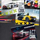 Альбомы BG для рисования ″Act Cool″: действуй по вдохновению!