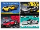 Альбомы BG для рисования «Мой супер-автомобиль»: для влюбленных в скорости