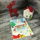 Хит! Книжка с трафаретами ″Чудесный Новый Год!″ от Феникс+