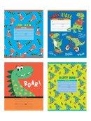 Тетради BG школьные «Happy dino»: веселые динозавры