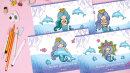 Альбом для рисования ″Дельфин и Русалка″