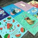 Новинка от Феникс+! Милейшая серия записных книжек для девочек.