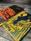 Стильный недатированный ежедневник Escalada в обложке из искусственной кожи ″Наппа″