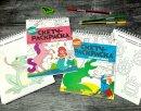 Новинка! Серия книжек-раскрасок для детей ″Скетч-раскраска″ от Феникс+