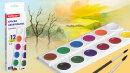 Всё гениальное просто – новый набор акварели ErichKrause® 12 цветов