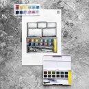 Обзор водорастворимых блоков Derwent Graphitint от иллюстратора Марии Гох