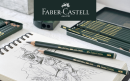 Faber-Castell: выгодное предложение на легендарные чернографитные карандаши Castell 9000 и Pitt Graphite Pure 