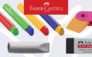 Faber-Castell: лучшие ластики по лучшим ценам
