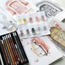 Обзор набора карандашей Van Gogh Sketch Special от Евгении Карчевской