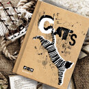 Скетчбук BG «Полосатый котик»: дыши, твори, рисуй!