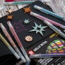 Stardust и Moonlight – гелевые ручки с необычным лайном
