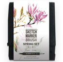 Обзор спиртовых маркеров Sketchmarker Brush от Даши Брындиной