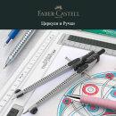 Faber-Castell: скидка 25 % на выделенный ассортимент ручек, металлических циркулей и грифелей к ним