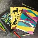 ESCALADA 2021. Серия стильных записных книжек с яркими принтами.