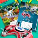 Школьные тетради BG «Drone»: внеземная красота