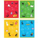 Школьные тетради и ручки BG «Cats&сats». Мини-коллекция!