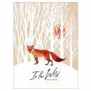 In the Wild: лиса в лесу. Стильный скетчбук!