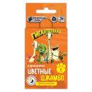 Набор цветных карандашей «Гигантозавр» от ТМ ВКФ, 6 цветов