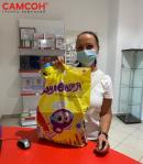 Праздник с участием Юнландика в Екатеринбурге: открытие магазина «Канцсити»