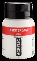Краска акриловая Amsterdam №105 Белила титановые (500 мл)